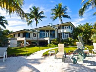 'SHARK KEY CHATEAU' Incredible 3-Story Mansion w/ Private Beach, Pool, & Spa, Key West