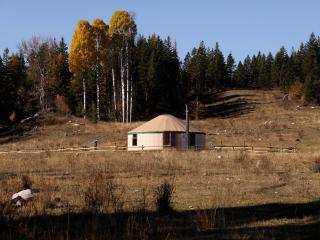 Mongolian Cabin at Bear Valley Highlands, Lumby
