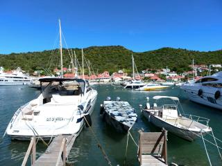 Marvelous 2 Bedroom Waterfront Apartment in Gustavia