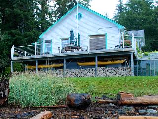 Beach Fishing Cottage on NW Vancouver Island, Quatsino