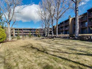 Pet-friendly condo with patio, shared swimming pool!, Bend
