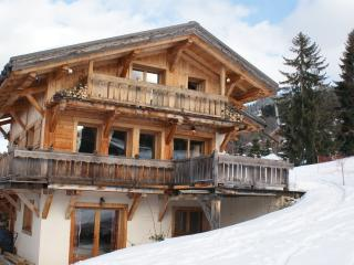 LUXURY SKI CHALET AT THE FOOT OF THE SKI MEGÉVE - Megève vacation rentals