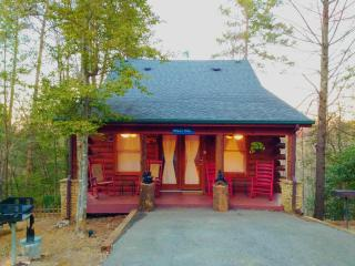 CHARMING LOG CABIN WITH 2 MASTER SUITES-LOCATION!!, Gatlinburg