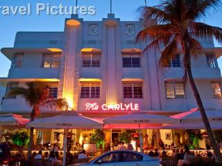 Front of Carlyle at Night