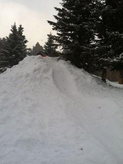 Sledding and snowball fights are as close as the front yard.