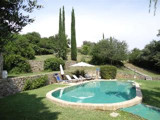 Capriola Terrazzo: A Delightful Country Villa set in Gardens and Pool in Southern Tuscany, Sleeps 4, Capalbio