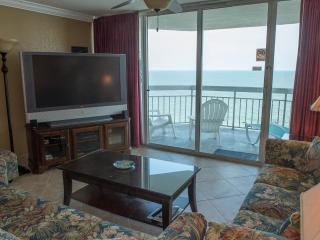 Direct Ocean Front Condo 1BR/2BA Vacation Rental Property, Garden City Beach