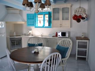 Villa for 6 with Panoramic View in Naxos, Apollon