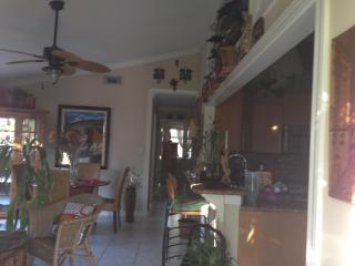 Kitchen, Living, and Dining