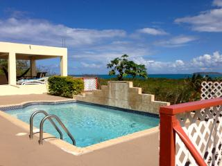 Amazing Caribbean View 2 Bedroom Apt Private Pool, Fajardo