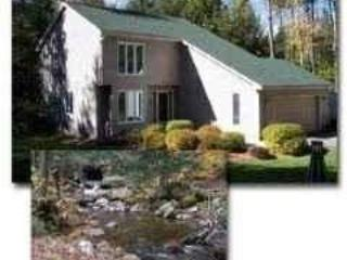 Near Okemo and Manchester, VT Contemporary Rental Home at base of national forest with In-law Apartment, Wallingford