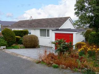 BAY VIEW, detached bungalow, sea views, enclosed patio, walks nearby, in Benllech, Ref 19734