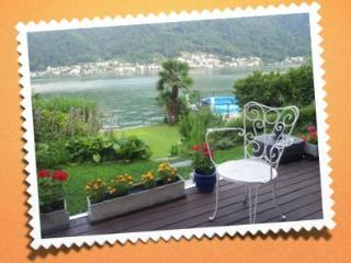 villa of your dreams on shore of lake of Lugano, Vico Morcote