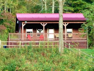 Deck Overlooking Creek & New River Trail - Pets OK, Galax