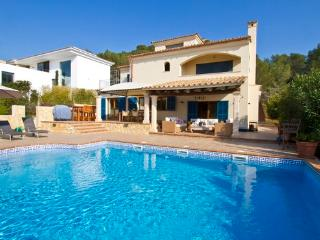 Holiday house with sea view and pool for 8  people with garden and Wi-FI internet access - ES-1078012-Santa Ponça - Santa Ponsa vacation rentals