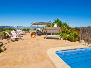Villa with sea and mountain view for 7  people on a hill in the north of Mallorca - ES-1078346-Muro - Muro vacation rentals