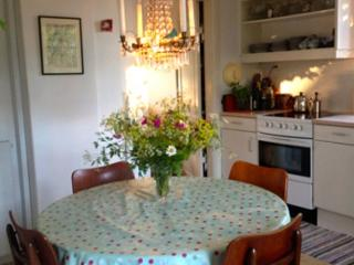 Copenhagen apartment at charming Brumleby on Oesterbro