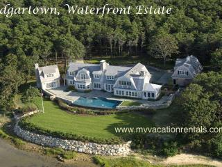 ROSBP - Water Haven- Spectacular Waterfront  Luxury Vacation Home, Infinity Pool and Spa,, Edgartown
