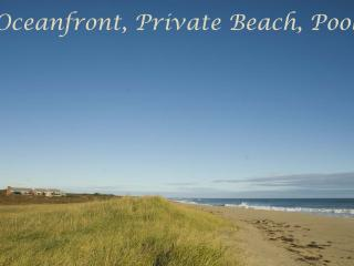 BSCHL - Oceanfront, Private Beach, Pool, WiFi, West Tisbury