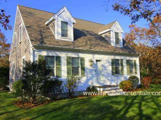 KEAND - Cape Cod Village House,  Upscale furnishings, Central A/C, WiFi, 20 Minute Walk Town, 1/2 Mile to Bike Path., Edgartown