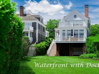 CONNJ - Luxury Home, In-Town, Waterfront on the Harbor, Private Dock Space Available,  Central Air, WiFi, Edgartown