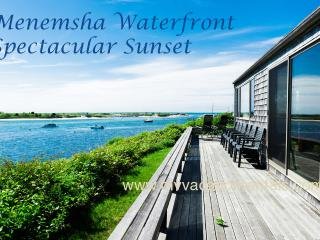 LEWID - Menemsha Waterfront,  Magnificent Views and Private Location, WiFi, Chilmark