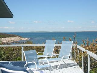 BAYLM - Spectacular Waterfront  in Makonikey,  Ocean Views and Breathtaking Sunsets, Private Beach,  Private Location, Vineyard Haven