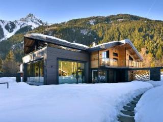 Spacious Chalet Dalmore with mountain view roof terrace, large pool, driver & chef, Chamonix