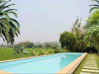Stunning Private Villa 6BD7BA - Pool & Gardens over Rice Fields, Chiang Mai