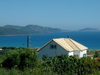 Cosy Studio: magnificent view on the Ionian sea, Finikounda