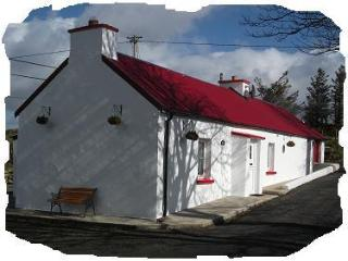 Traditional 150 year old cottage Donegal Ireland, Ballybofey
