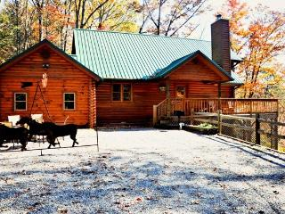 Unbridled Memories Log Cabin with Spectacular View, Gatlinburg