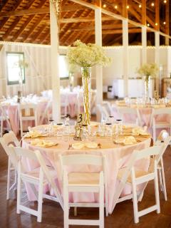 The white barn in Springville is famous for their weddingsand it's only 8 miles away.