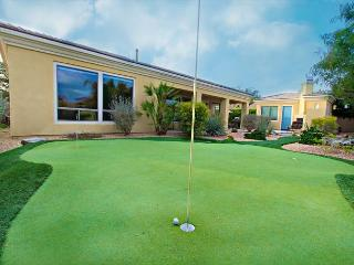 'Augusta' Putting Green with Water Features, Pool , Spa, Outdoor Fireplace, Indio