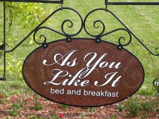 As You Like It Bed & Breakfast, Niagara-on-the-Lake