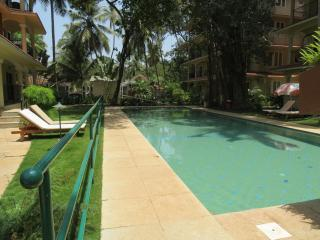45) Acron 1 Bedroom Apt Nr Arpora Pool Facing - Saligao vacation rentals