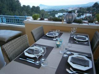 Altea apartment with large terrace and beautiful view