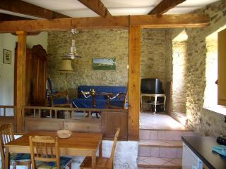charming stone house, big pool, romantic grounds, Bouriege