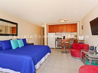 Fairway Villa #1410 - Studio with AC, WiFi, roof-top pool, Jacuzzi, parking. Close to beach. - Waikiki vacation rentals