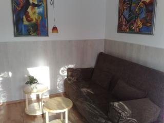 Vacation Apartment in Greifswald - 592 sqft, balcony, great view, fully outfitted kitchen (# 1118)