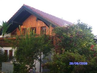 Vacation Apartment in Possenhofen - 753 sqft, spacious terrace, good landscaping (# 665)