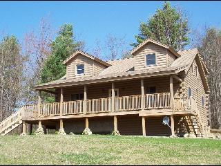 Hilltop View Lodge! Lovely cabin in the White Mtns, North Haverhill