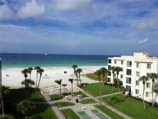 Palm trees, white sand, and the crystal blue waters - 17 South, Siesta Key