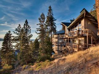 Grand Cave Rock Home: Vaulted Ceilings, Multiple Decks with Lake Views, Pool Table (CR13) - South Lake Tahoe vacation rentals