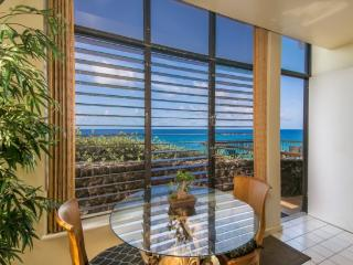 Free car* with Poipu Shores 101B - You cannot get closer to the ocean. 1 bed, large lanai, AC and a heated Pool!