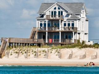 New River Inlet Rd 1056 Oceanfront! | Private Pool, Hot Tub, Jacuzzi, Internet, Fireplace, North Topsail Beach