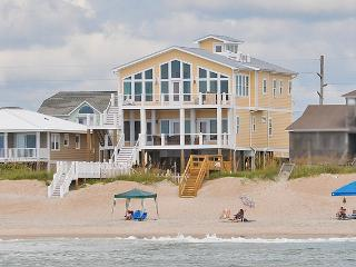 S. Shore Drive 1328 Oceanfront! | Private Pool, Hot Tub, Elevator, Game Equipment, Internet, Surf City
