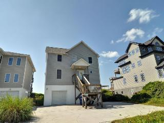 Island Drive 4444 Oceanfront! | Jacuzzi, Internet, North Topsail Beach