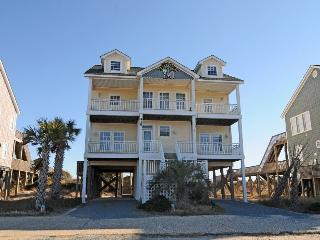 New River Inlet Rd 418 Oceanfront! | Private Pool, Internet, Jacuzzi, North Topsail Beach