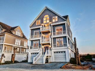 New River Inlet Rd 430 Oceanfront! | Hot Tub, Elevator, Internet, Jacuzzi, Fireplace, Wedding Friendly, North Topsail Beach
